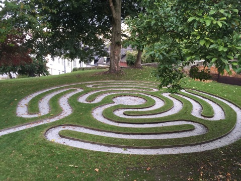 The new Cathedral Labyrinth